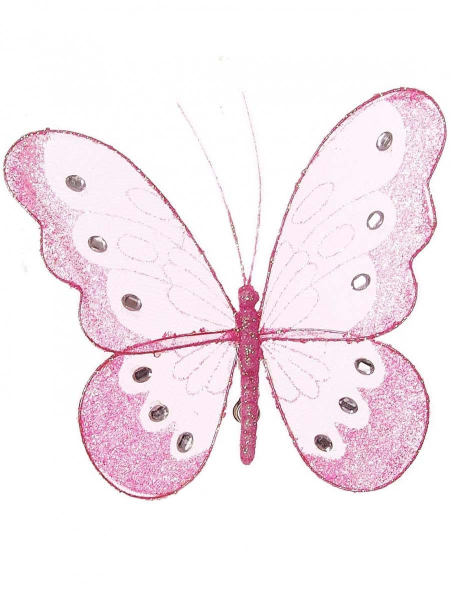 18cm Mesh Butterflies
