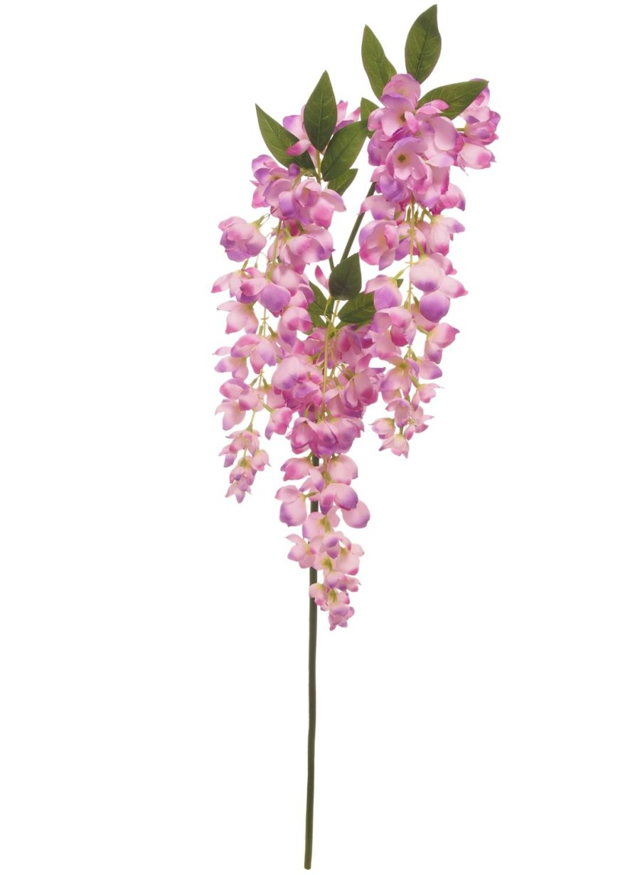 cream artificial wisteria