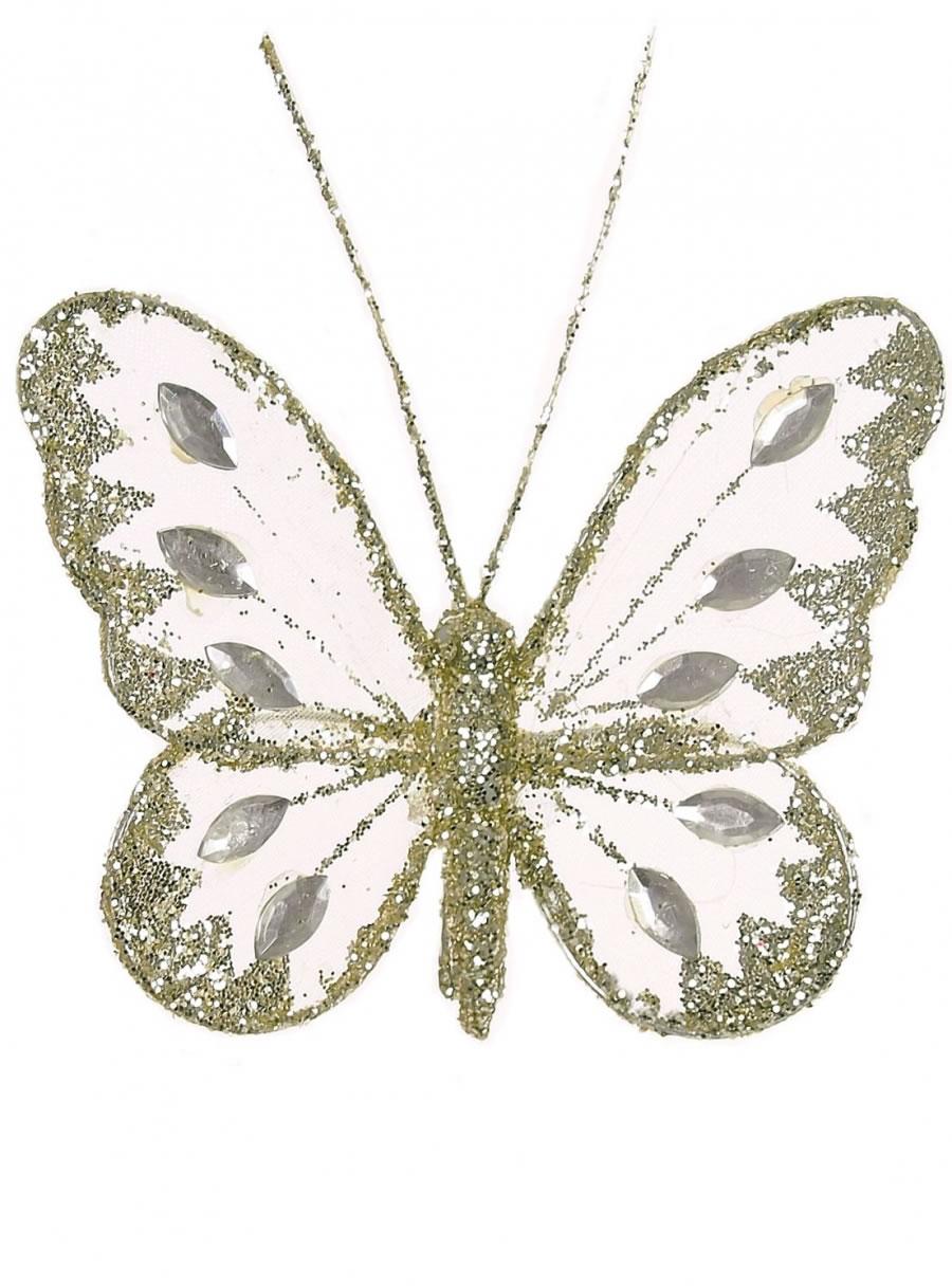 8cm Mesh Butterflies