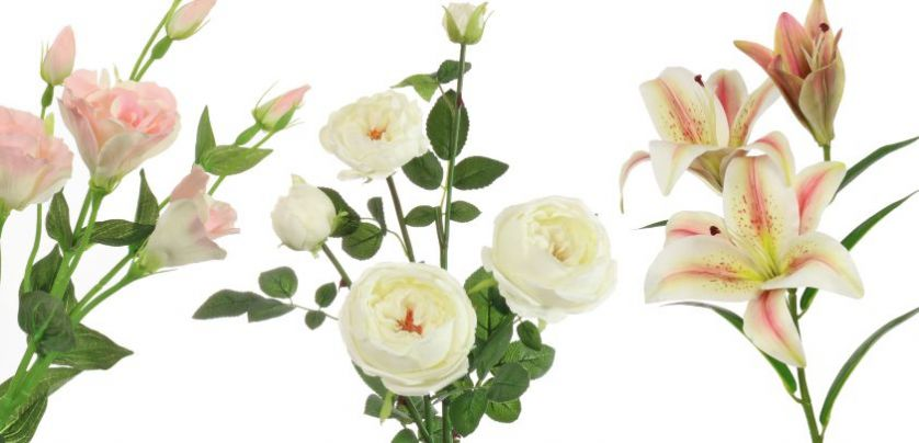 Huge Range Of Silk And Artificial Flowers